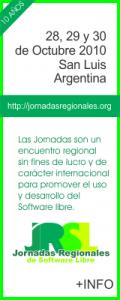 Jornadas Regionales de Software Libre en San Luis